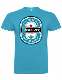Camiseta Heisenberg azul unisex