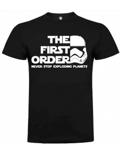 Camiseta firts order unisex