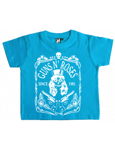 Camiseta Guns and roses calavera bebé