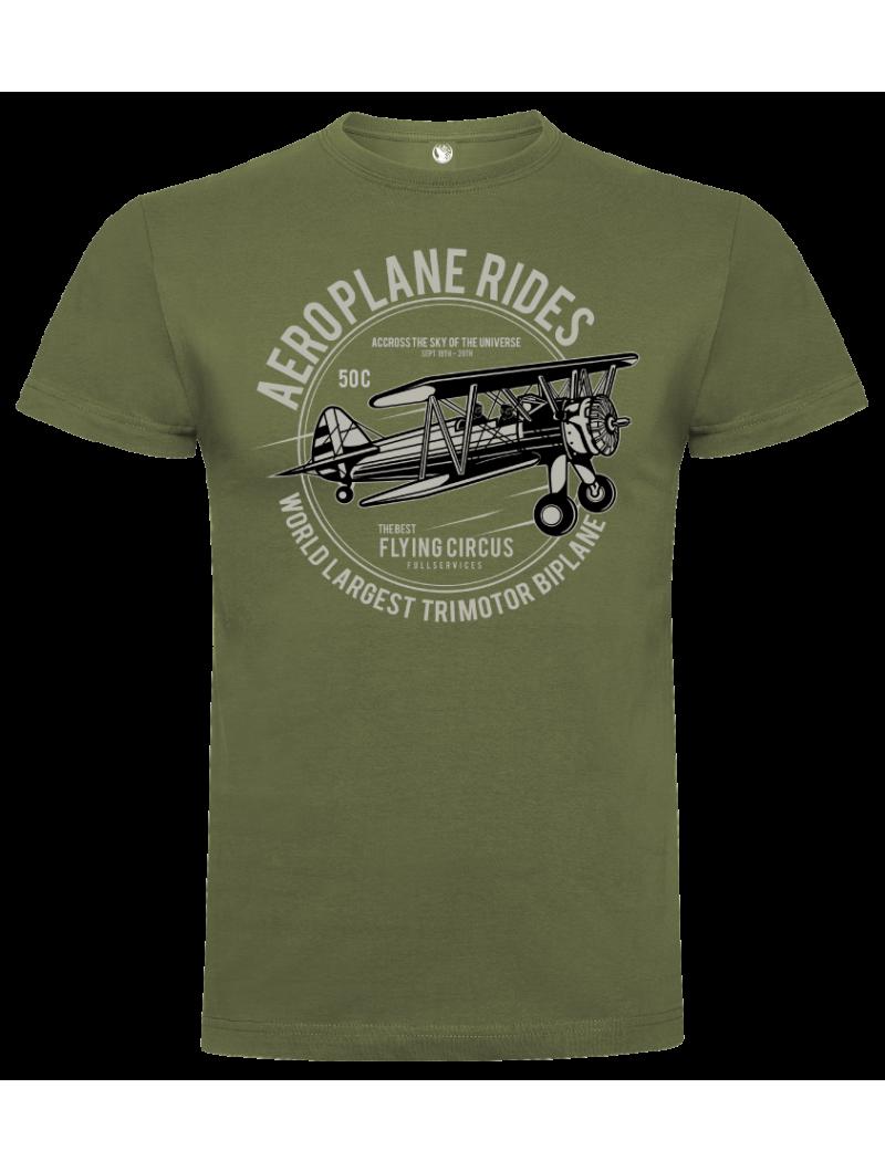 Camiseta aeroplane unisex