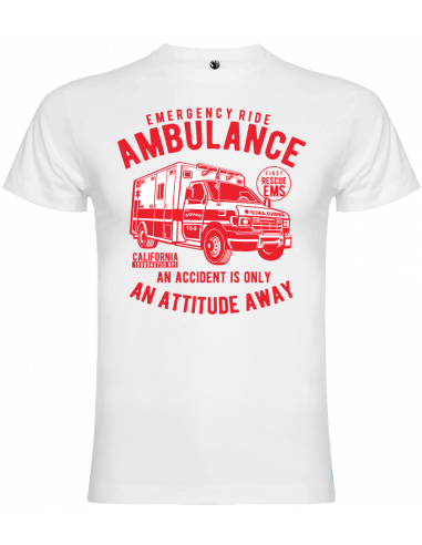 Camiseta ambulance unisex