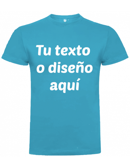 Camiseta niño algodón personalizada