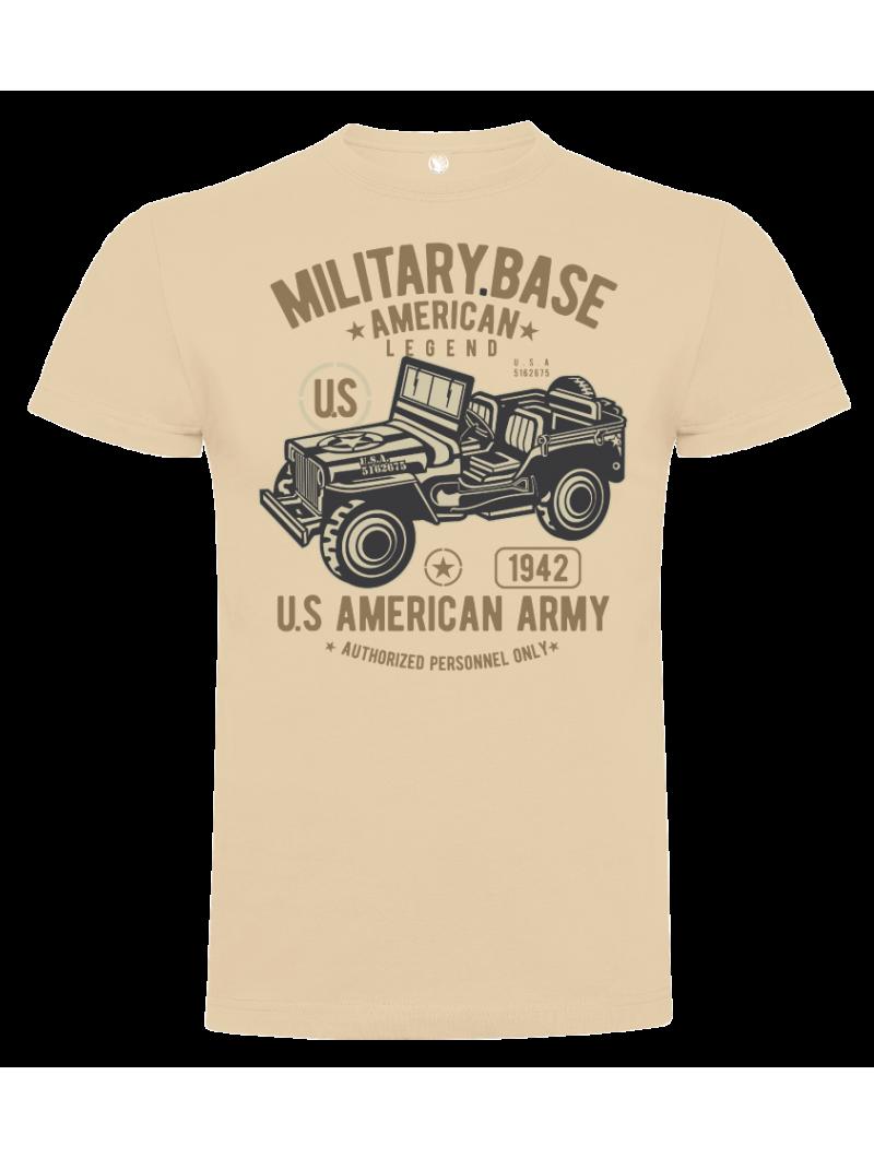 Camiseta Jeep unisex