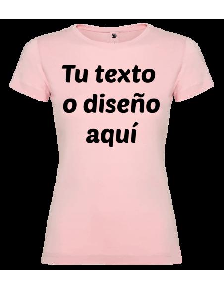 Camiseta niña algodón personalizada
