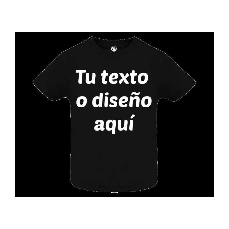 Camiseta bebé algodón personalizada