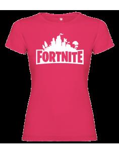Camiseta Fortnite mujer