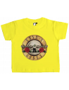 Camiseta Guns and roses revolvers bebé