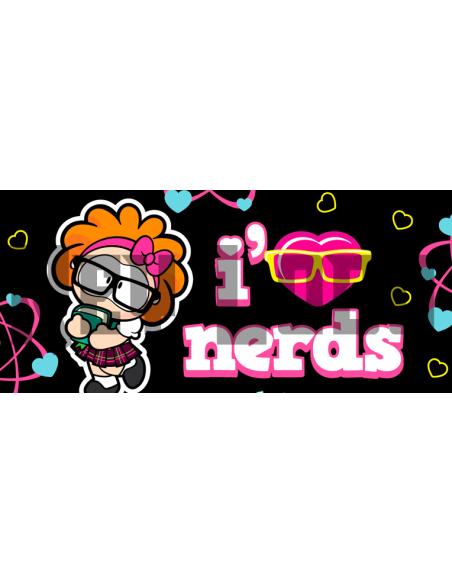 Taza amistad i love nerds