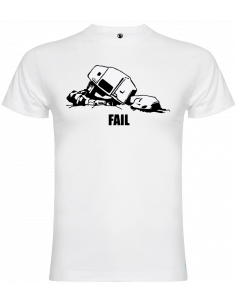 Camiseta AT-AT fail unisex