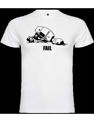 Camiseta AT-AT fail unisex