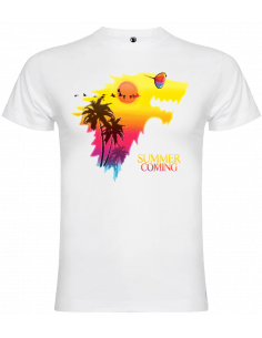 Camiseta summer is coming unisex