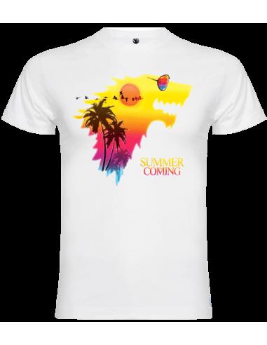 Camiseta summer is coming unisex
