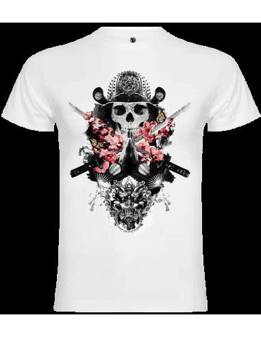 Camiseta calavera unisex