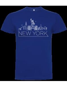 Camiseta Nueva York unisex