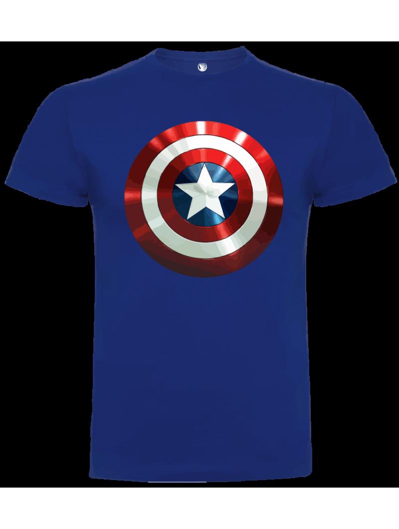 Camiseta Capitán América unisex
