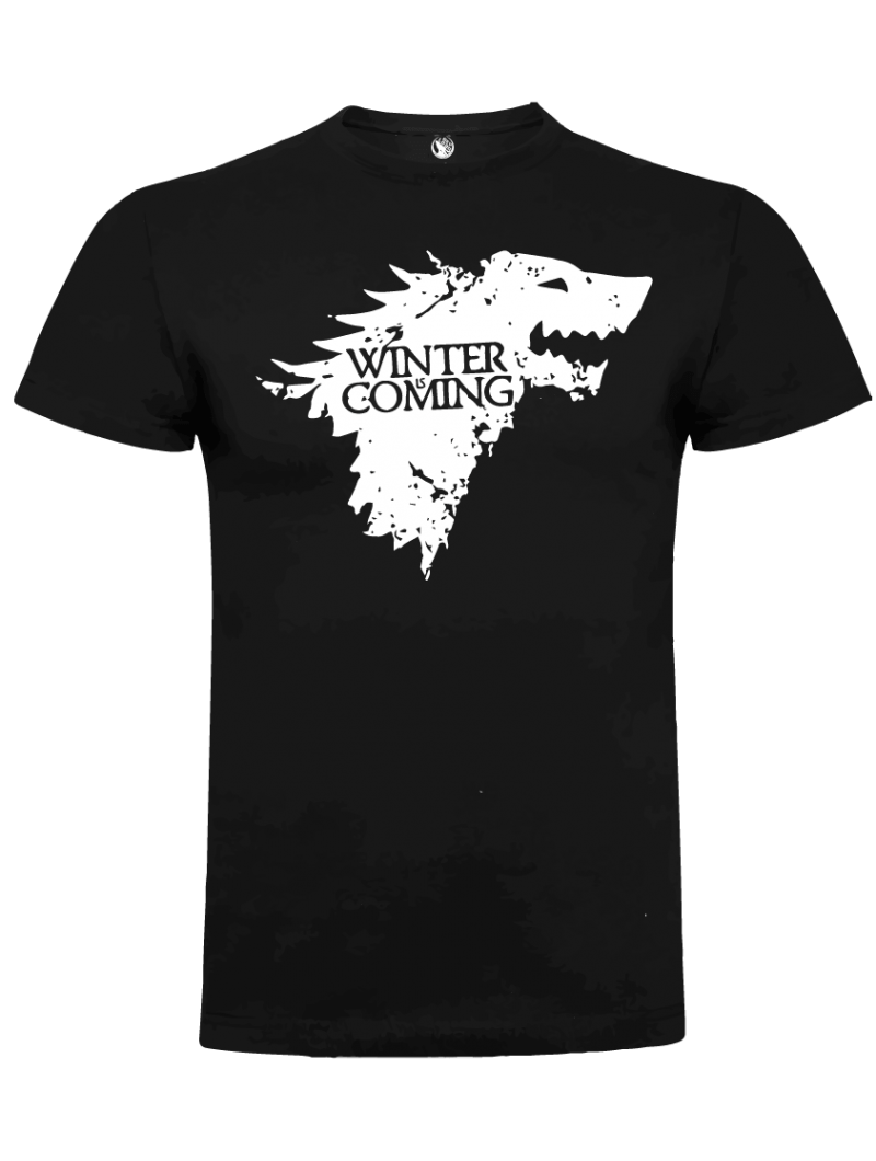 Camiseta lobo Stark unisex