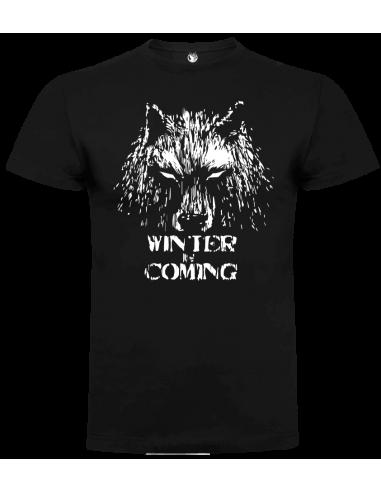 Camiseta winter is coming unisex