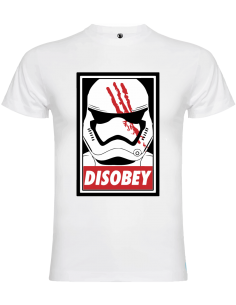 Camiseta Disobey trooper unisex