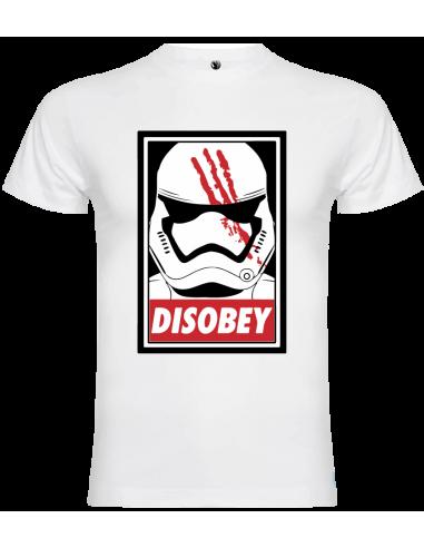 Camiseta Disobey trooper unisex