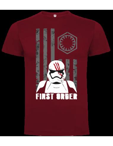 Camiseta bandera primera orden unisex