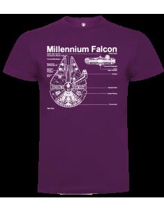 Camiseta millennium falcon unisex