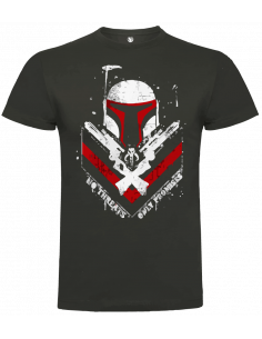 Camiseta boba fett unisex