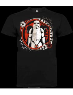 Camiseta evolution trooper unisex