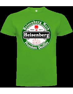 Camisetas Heisenberg verde unisex