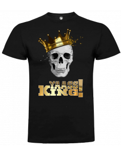 Camiseta calavera yaass king unisex