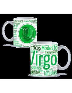 Taza signo Virgo
