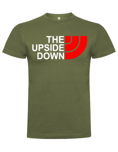 Camiseta the upside down unisex