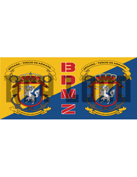 Taza BDMZ Infantería