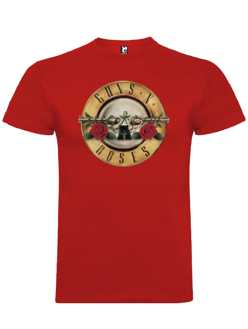 Camiseta Guns and roses revolvers niño