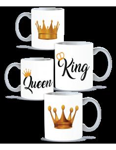 Pack Taza Pareja King Queen