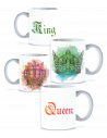 Pack Taza Pareja King Queen 2