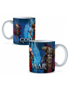 Taza game God of War