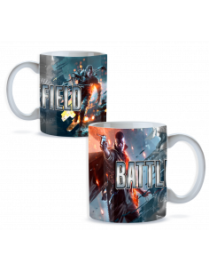 Taza game Battlefield