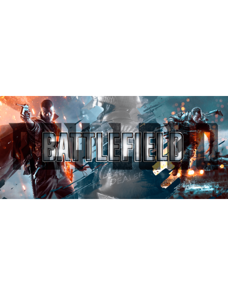 Taza game Battlefield