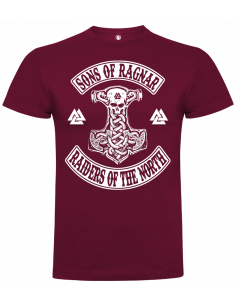 Camiseta Sons of Ragnar raiders