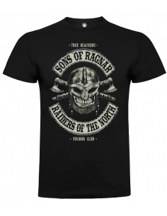 Camiseta sons of ragnar vikings club