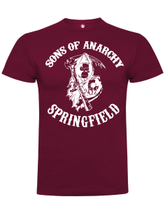 Camiseta sons of anarchy springfield unisex