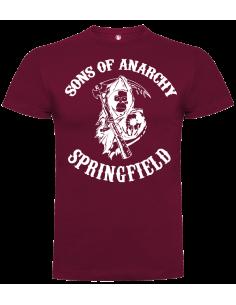 Camiseta sons of anarchy springfield unisex