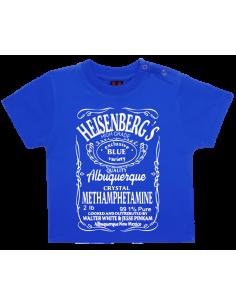 Camiseta heisenbergs bebé