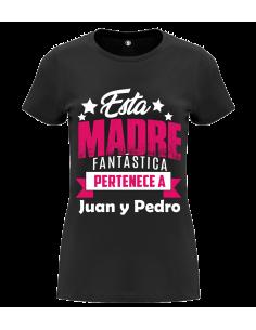 Camiseta esta mamá tan fantástica
