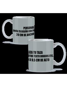 Taza personalizada 100%