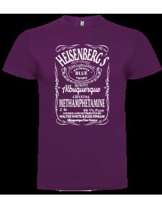 Camiseta heisenbergs niño