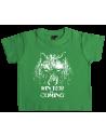 Camiseta winter is coming lobo bebe