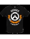 Camiseta Heroes Never Die bebé