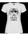 Camiseta Lobo winter mujer