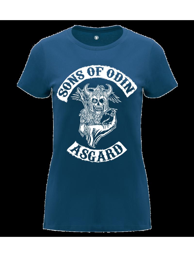 Camiseta Sons of Odin mujer